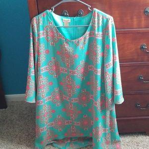 Turquoise Wrangler Dress